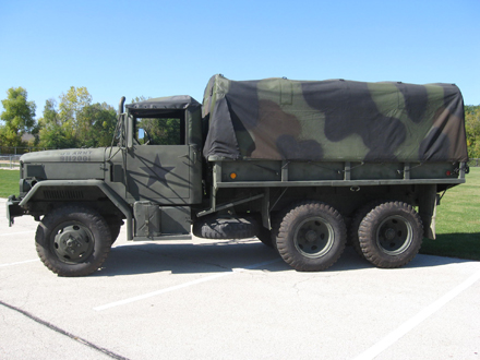 1971 military transport cargo truck