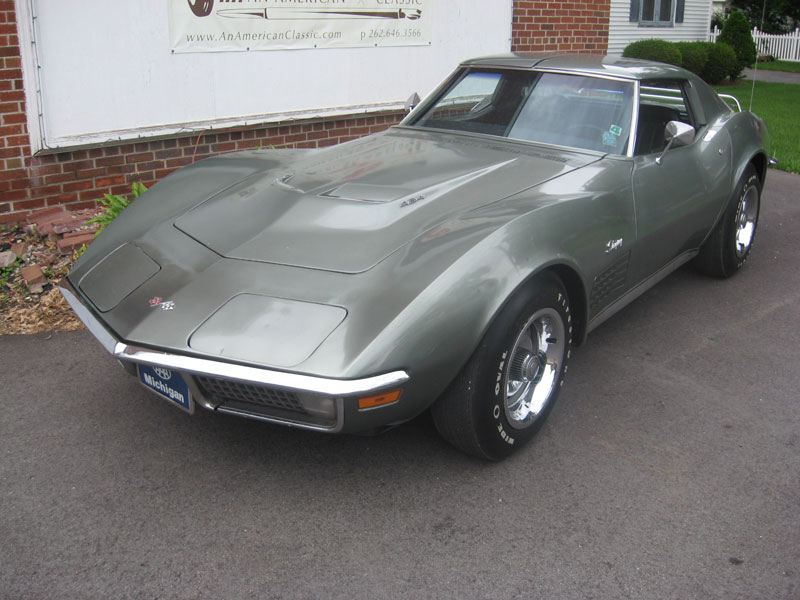 1971 Corvette Big Block Survivor Stingray Coupe