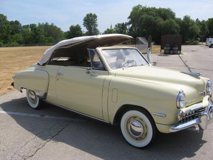 1948 Studebaker Champion regal Deluxe Convertible