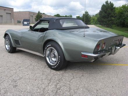 Chevrolet Corvette Stingray >> 1972 Chevrolet Corvette Stingray LT-1 Convertible